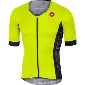 CASTELLI FREE Speed SS Race Jersey - Fluo Yellow
