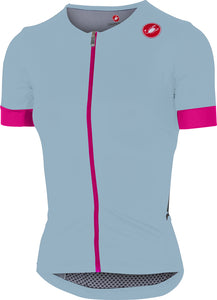 CASTELLI FREE SS Jerseys Womens - Powder Blue