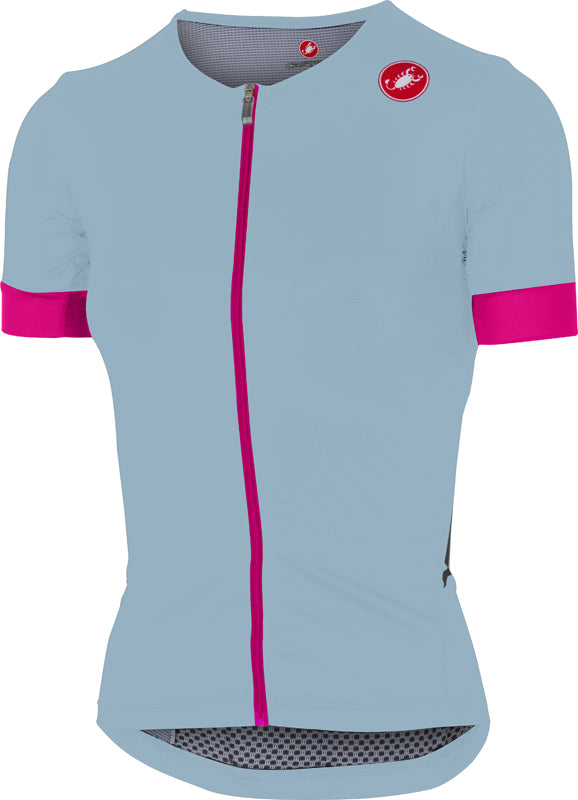 CASTELLI FREE WOMEN'S SPEED JERSEY POWDER BLUE