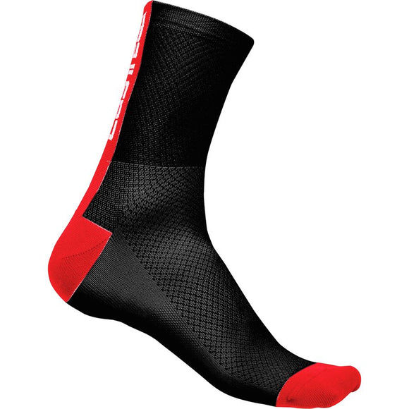 Castelli Distanza Socks - Blk/Red