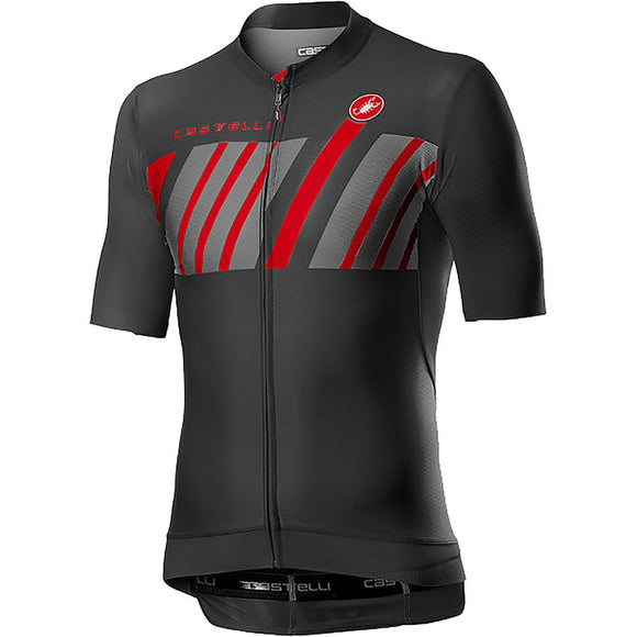 CASTELLI Hors Categorie Short Sleeve Jersey Mens - Dark Grey