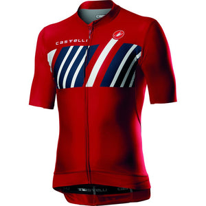 CASTELLI Hors Categorie Short Sleeve Jersey Mens - Red