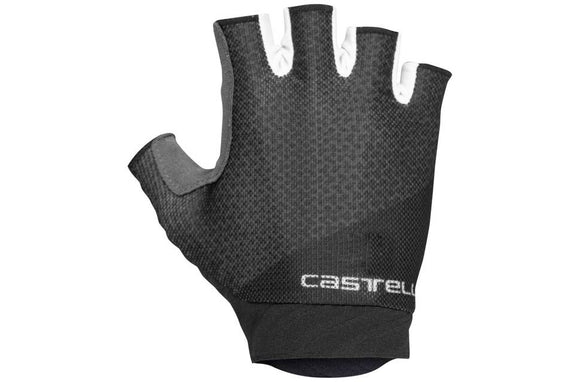 Castelli Roubaix 2 Gel Short Finger Glove (WOMENS) - Black