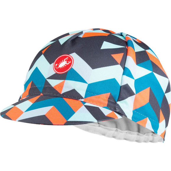 CASTELLI PRISMA CYCLING CAP - BLUE STEEL
