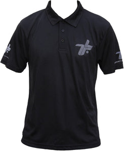 TLF Black 'Cool' Polo Shirt