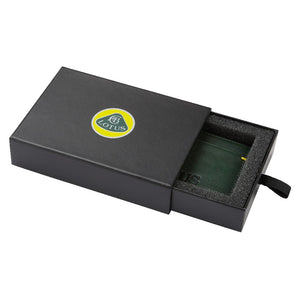 Lotus Leather Card Holder
