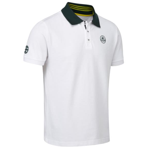 Lotus White Polo Shirt