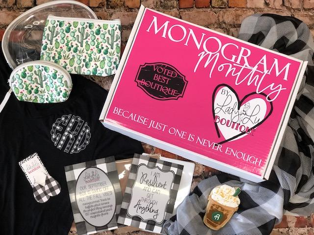 Monogram Monthly Subscription Box