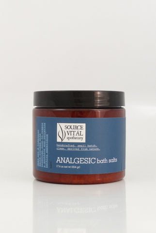 Analgesic Bath Salts - Sanctuary Spa Houston