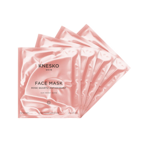 Rose Quartz Antioxidant Collagen Face Mask