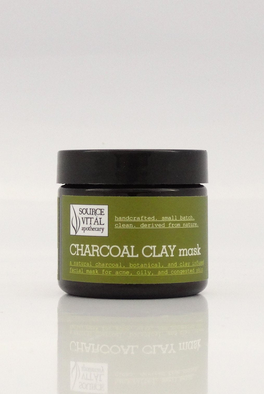 Charcoal Clay Mask - Sanctuary Spa Houston