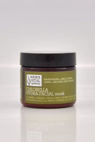 Chlorella Hydra-Facial Mask - Sanctuary Spa Houston