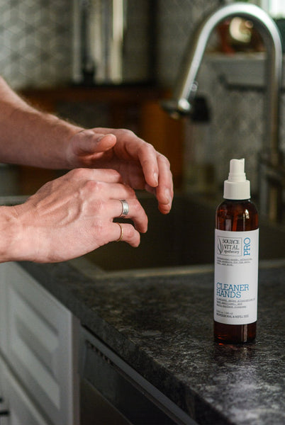 Cleaner Hands Spray - Sanctuary Spa Houston