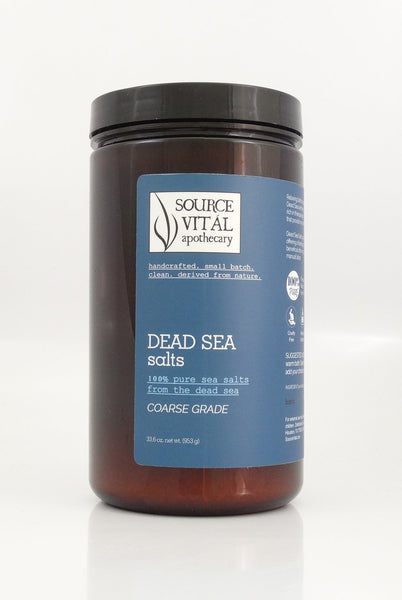 Dead Sea Salts - Sanctuary Spa Houston