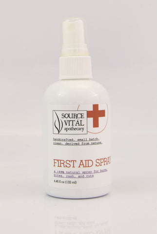 First Aid Spray - Sanctuary Spa Houston