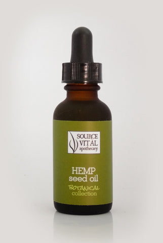 Hemp Seed Oil (Organic, Unrefined, Cold-Pressed) - Sanctuary Spa Houston