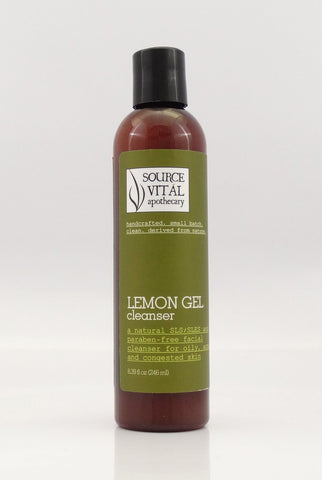 Lemon Gel Cleanser - Sanctuary Spa Houston