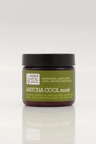 Matcha Cool Mask - Sanctuary Spa Houston
