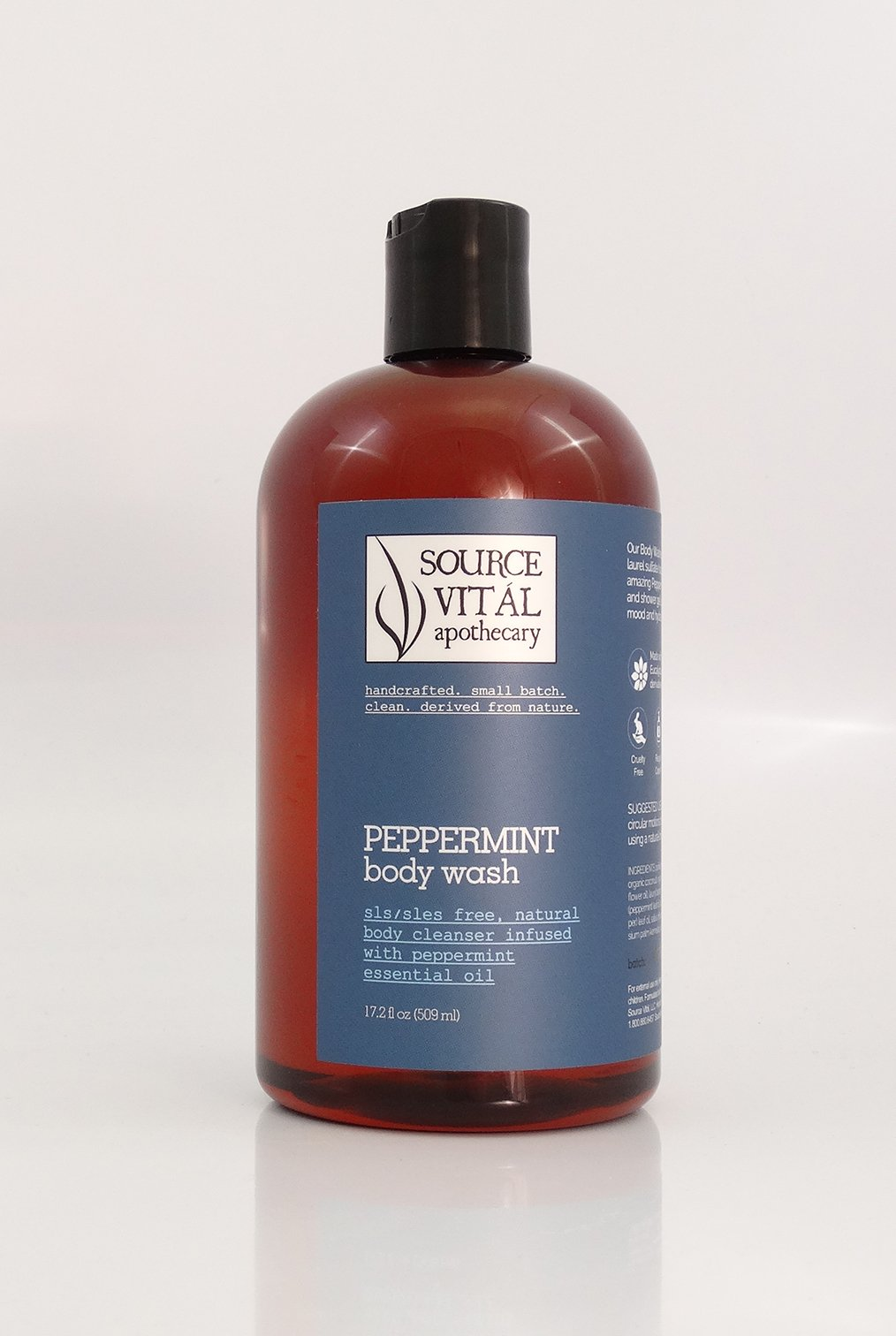 Peppermint Body Wash - Sanctuary Spa Houston