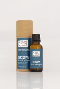 Renew Bath & Body Oil - Sanctuary Spa Houston