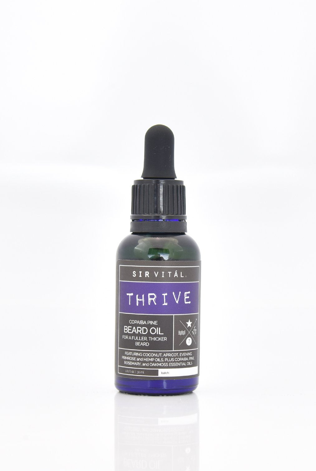 THRIVE (Beard Oil) by Sir Vitál - Sanctuary Spa Houston