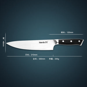 "Super quality 8"" Japanese AUS-8 stainless steel kitchen chef knife"