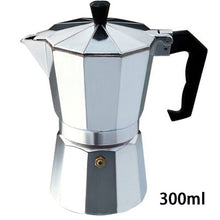Load image into Gallery viewer, Duolvqi Aluminum Coffee Maker Durable Moka Cafeteira Expresso Percolator Pot Practical Moka Coffee Pot 50/100/150/300/450/600ml