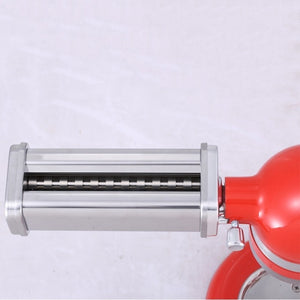 2020 Noodle Makers Parts Kitchenaid Fettucine Cutter Roller Attachment For Stand Mixers Kitchen Aid Pasta Food Processors New