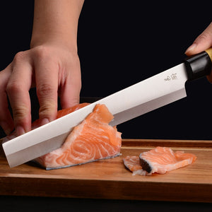 Old Blacksmith Stainless Steel Kitchen Multifunctional Slicing Knife Chef Special Cut Sushi Fish Sashimi Cooking Knives Cleaver