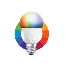 Marrath Smart Wi-Fi Multi Color RGBW  Bulb to change the light color using Marrath Home APP