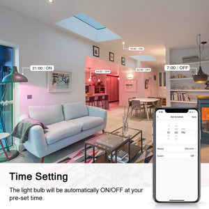 Marrath Smart Wi-Fi 16 Million Color RGBW GU 10 spot ceiling light work with Marrath Home APP