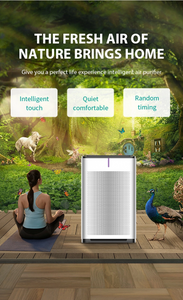 Marrath Smart WiFi HEPA Air-purifier with Ionizer,  UV lights  and  Marrath Home APP