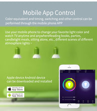 Load image into Gallery viewer, Marrath Smart Home 16 Million Color RGBW Wi-Fi E14 candle chandelier light use with Marrath Home APP