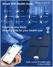 Load image into Gallery viewer, Marrath Smart WiFi Digital Electronic Body Fat Weighing Scale
