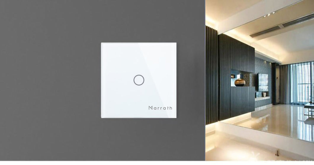 Marrath Smart Home WiFi Touch Switch for home automation projects work with APP and voice control