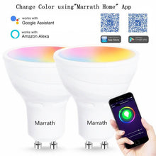 Load image into Gallery viewer, Marrath Smart Wi-Fi 16 Million Color RGBW GU 10 spot ceiling light work with Marrath Home APP
