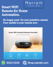 Load image into Gallery viewer, Marrath Smart WiFI Universal Remote to make your mobile as your remote