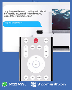 Marrath Smart WiFI Universal Remote to make your mobile as your remote