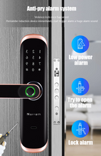 Load image into Gallery viewer, Marrath Smart WiFi Fingerprint RFID Passcode lock work with Marrath Home APP