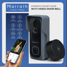 Load image into Gallery viewer, Marrath Smart WiFi HD Video Door Bell with Chime and Mobile APP