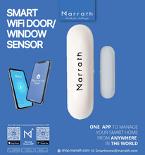 Load image into Gallery viewer, Marrath Smart WiFI Home Door / Window / Safe / Locker Sensor.
