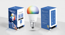 Load image into Gallery viewer, Marrath Smart Wi-Fi Multi Color RGBW  Bulb to change the light color using Marrath Home APP