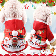 Christmas Pet Clothes Cat Dog Costume Winter Outfit For Christmas
