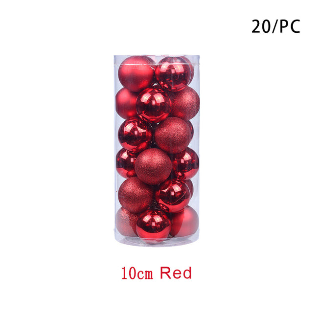 Christmas Balls Shatterproof Tree Ball Ornaments Decorations For Xmas Trees