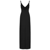Cocktail Dresses For Women Evening Party Spaghetti Strap Split