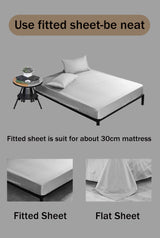 Brushed Bed Sheet Set Microfiber Easy Care Bed Sheet - Twin, Full, Queen, King