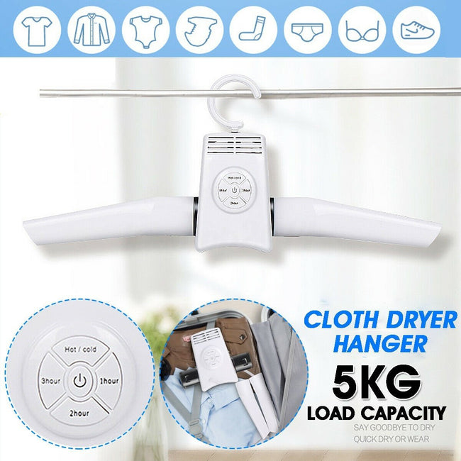 Portable Clothes Dryer Suit Hanger Dryer for Business Trip Travel
