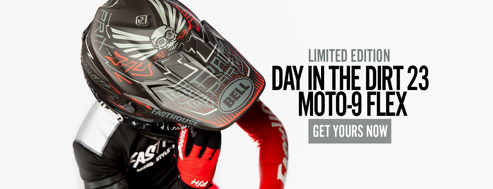 Day in the Dirt 23 Moto 9 Flex Helmet