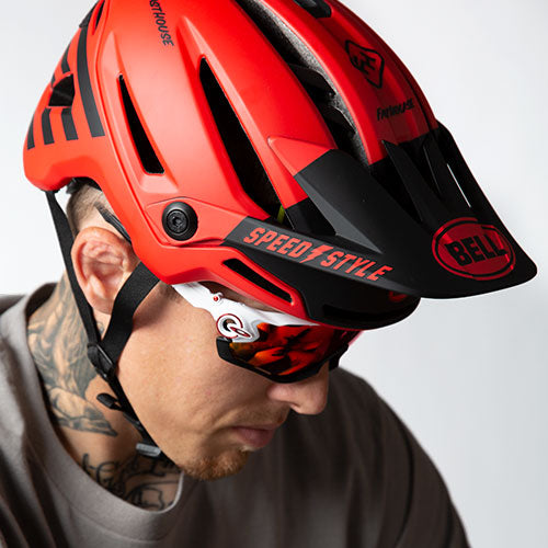 Bell and Fasthouse Collaboration Helmets