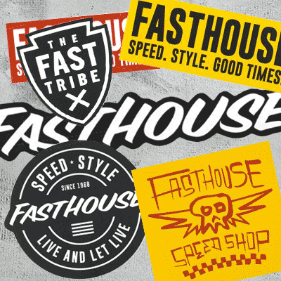 Fasthouse Stickers